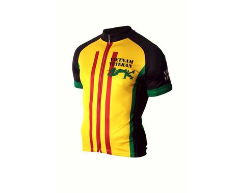 83 Sportswear Vietnam Veteran Short Sleeve Jersey (Yellow)