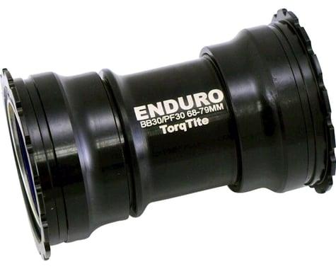 Enduro TorqTite Bottom Bracket: PF30, Angular Contact Stainless Steel Bearing Bl