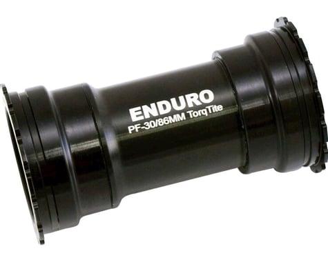 Enduro TorqTite Stainless Bottom Bracket (Black) (BB386 EVO)