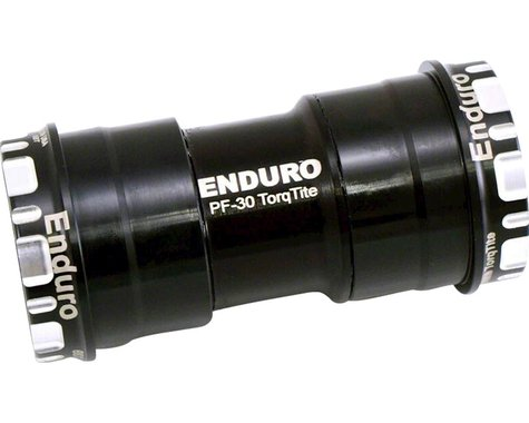 Enduro TorqTite Stainless Bottom Bracket (Black) (BB30)