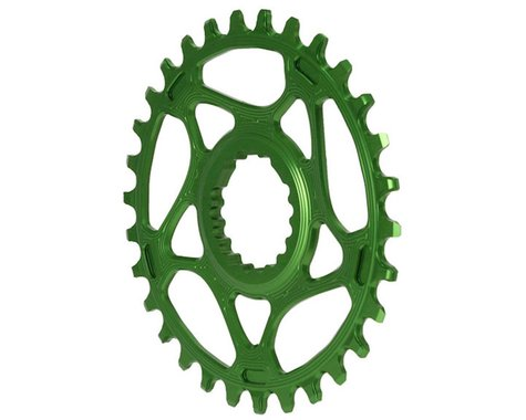 Absolute Black Cannondale Hollowgram DM Ring (Green) (30T)