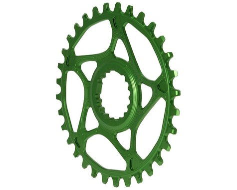 Absolute Black Cannondale Hollowgram DM Ring (Green) (32T)