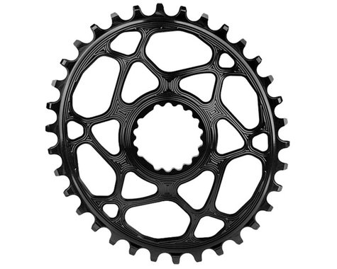 Absolute Black Cannondale Hollowgram DM Oval Ring (Black)