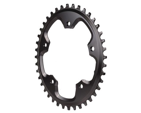 Absolute Black CX 1X Oval Chainring (Black) (110mm BCD) (40T)