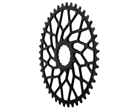 Absolute Black Easton Direct Mount CX Oval Chainring (Black) (44T)