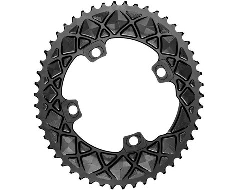 Absolute Black FSA ABS Outer Oval Chainring (Black) (110mm BCD) (52T)