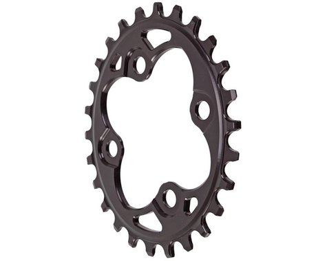 Absolute Black Oval Chainring (Black) (64mm BCD) (Offset N/A) (26T)