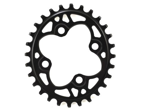 Absolute Black Oval Chainring (Black) (64mm BCD) (Offset N/A) (28T)