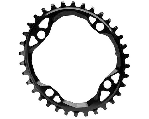 Absolute Black Oval Chainring (Black) (104mm BCD) (36T)