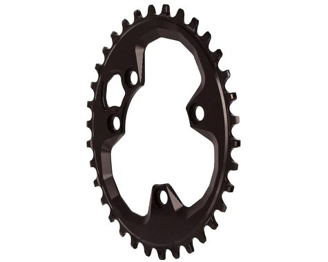 Absolute Black Oval Chainring (Black) (76mm BCD) (34T)