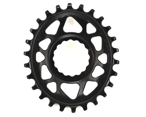 Absolute Black Direct Mount Race Face Cinch Oval Ring (Black) (6mm Offset) (26T)
