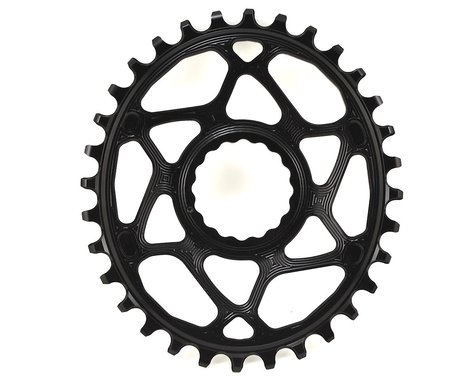 Absolute Black Direct Mount Race Face Cinch Oval Ring (Black) (6mm Offset) (32T)