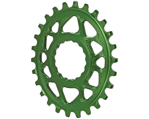 Absolute Black Direct Mount Race Face Cinch Oval Ring (Green) (Boost) (26T)