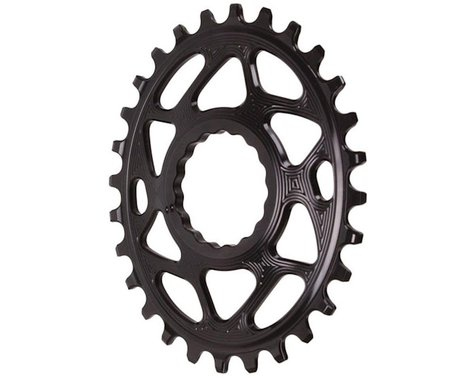 Absolute Black Direct Mount Race Face Cinch Oval Ring (Black) (Boost) (3mm Offset (Boost)) (28T)