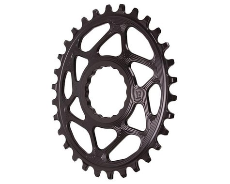 Absolute Black Direct Mount Race Face Cinch Oval Ring (Black) (Boost) (30T)