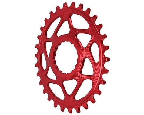 Absolute Black Direct Mount Race Face Cinch Oval Ring (Red) (Boost) (30T)