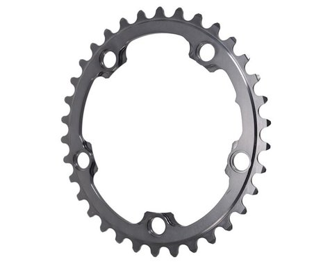 Absolute Black Winter 2x Oval Chainring (Black) (110mm BCD) (Offset N/A) (34T)
