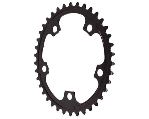 Absolute Black Premium 2x Oval Chainring (Black) (110mm BCD) (38T)