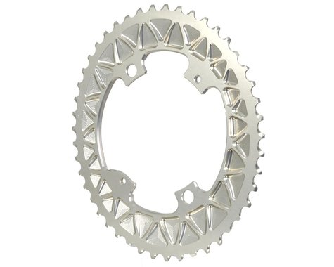 Absolute Black Premium Oval Subcompact Road Chainring (Champagne) (110mm BCD)