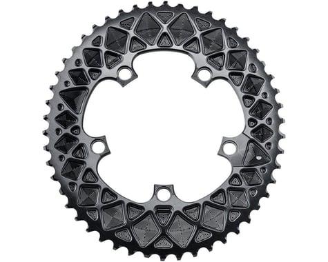 Absolute Black SRAM Hidden Bolt Premium 2x Oval (Black) (110mm BCD) (52T)