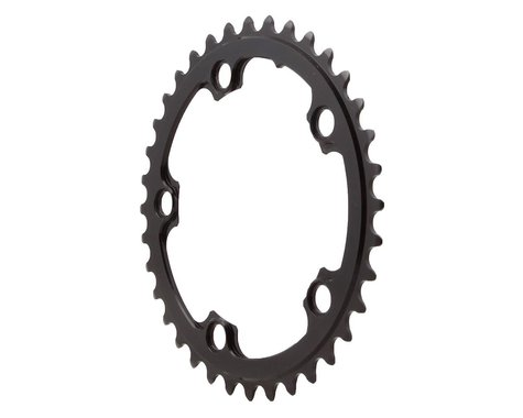 Absolute Black Round Chainring (Black) (110mm BCD) (36T)