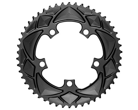 Absolute Black Round Chainring (Black) (110mm BCD) (50T)