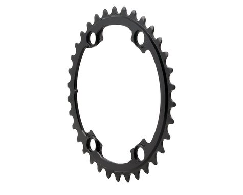 Absolute Black Round Chainring (Black) (110mm Asym BCD) (34T)