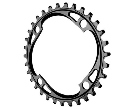 Absolute Black Chainring (Black) (104mm BCD)