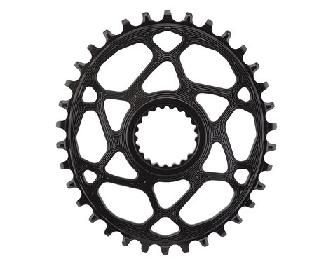 Absolute Black XTR M9100 Direct Mount Oval Chainring (Black) (3mm Offset (Boost)) (34T)