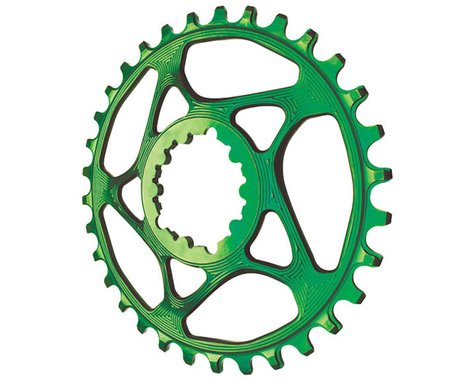 Absolute Black Spiderless GXP Direct Mount Ring (Green) (28T)