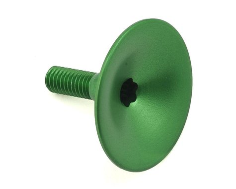 Absolute Black Integrated Top Cap for Headset (Green)