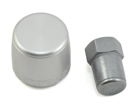 Abus Nutfix Solid Axle 2 Pack (Silver) (M10)