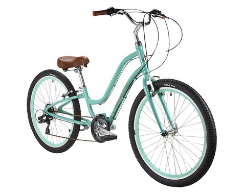 Performance Americano Twenty-one Speed Women's Comfort Bike (Orange) (M/L)