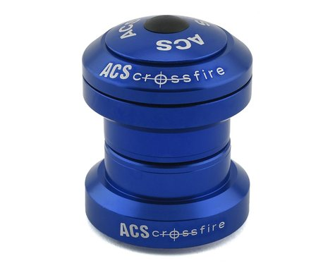 "ACS Headset Crossfire External (Blue) (1-1/8"")"