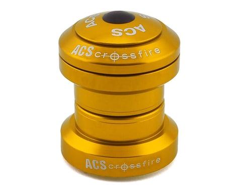 """ACS Headset Crossfire External (Gold) (1-1/8"""")"""