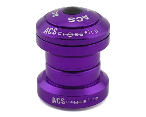 "ACS Crossfire Standard Headset (Purple) (1-1/8"")"