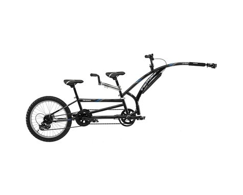 Adams Trail A Bike r Adams T-A-B Folding Tandem Blk