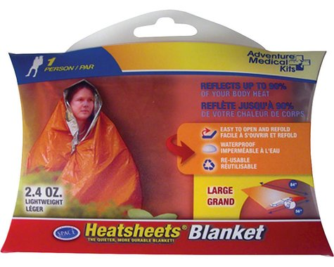 Adventure Medical Kits Heatsheets Survival Blanket, One Person