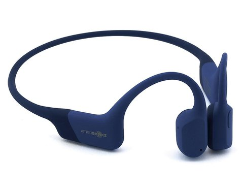 AfterShokz Aeropex Wireless Bone Conduction Headphones (Blue Eclipse) (Standard)