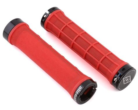 Alienation Moto II Lock-On Grips (Red) (Pair)