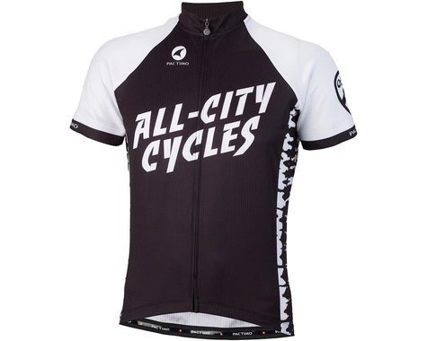 All-City Wangaaa! Men's Jersey (Black/White) (M)