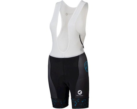 All-City Electric Boogaloo Women's Bib Short (Black/Blue)
