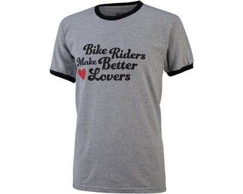 All-City Bike Riders Make Better Lovers T-Shirt (Gray)