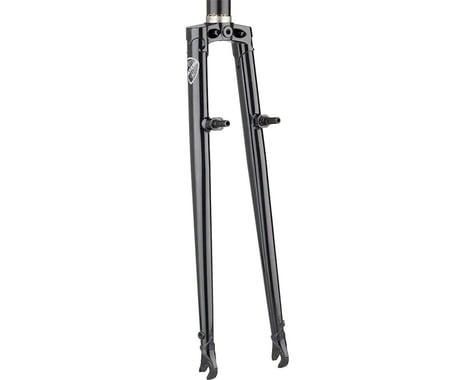 All-City Nature Boy Straight Blade Cross Fork (Black)