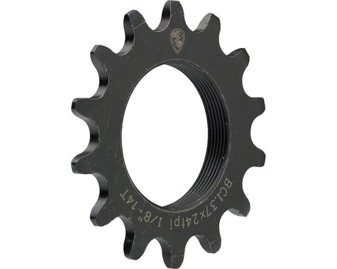 "All-City 1/8"" Track Cog (Black) (12T)"