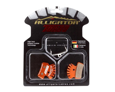 Alligator Turbo Disc Brake Pads (Avid Trail, SRAM Guide) (Organic)