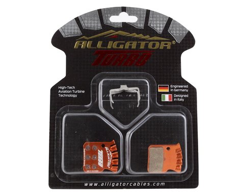 Alligator Turbo Disc Brake Pads (SRAM Level Ultimate/TLM/Force/Red 22) (Organic)