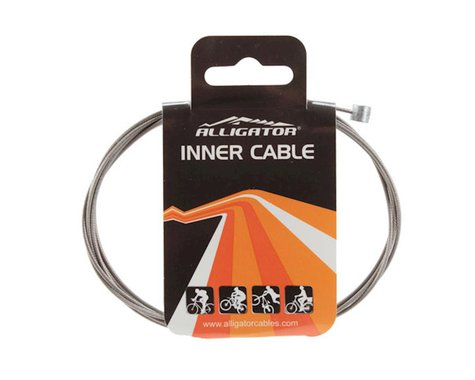 Alligator X-Long Brake Cable (Stainless) (1.6 x 3000mm) (1)
