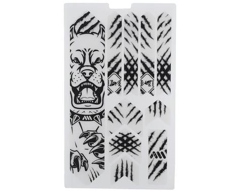 All Mountain Style Honeycomb Frame Guard (Pitbull) (Black)