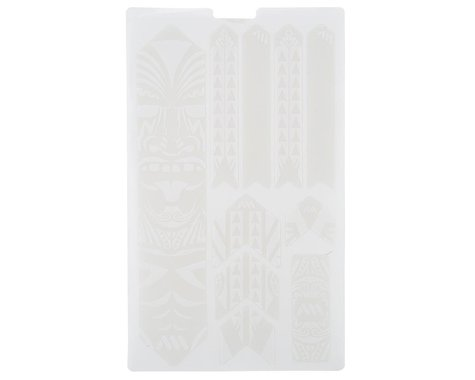 All Mountain Style Honeycomb Frame Guard XL (White) (Maori)